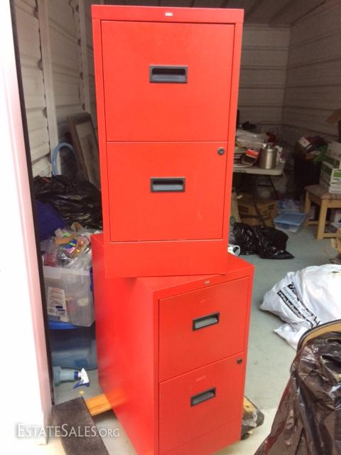 Vintage File Cabinet By Hon Three Cabinets Estatesales Org