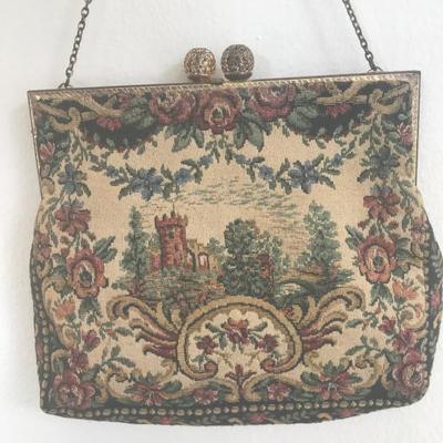 Beautiful Vintage Hand Purse H.A. & E. Smith Ltd (Item #603)