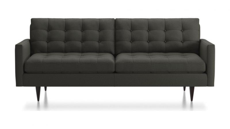 Enjoyable Crate Barrel Petrie Midcentury Sofa Excellent Estatesales Org Pabps2019 Chair Design Images Pabps2019Com