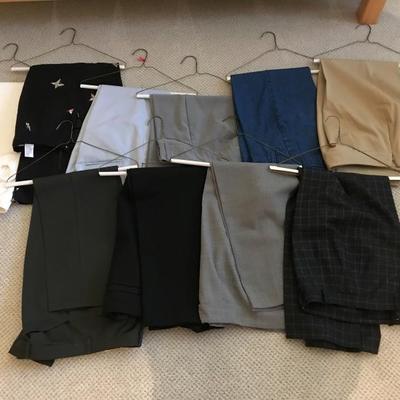 Lot 16-Lot of Ladies' Pants Size 8/M