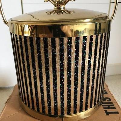 Lot 15-Mid-Century Colony Qube-Master Ice Bucket in Box