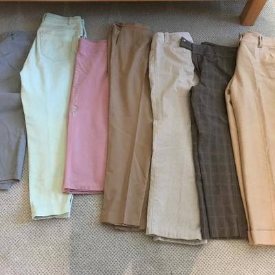 Lot 14-Lot of Ladies' Pants Size 10/12
