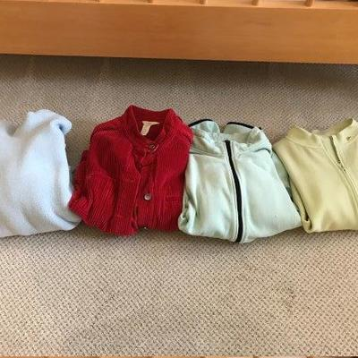 Lot 6-Lot of Ladies' Sweatshirts Size M