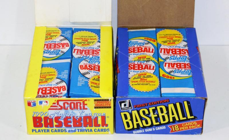 1989 Topps Baseball Cards 80 Packs Lot 515 14 Estatesalesorg