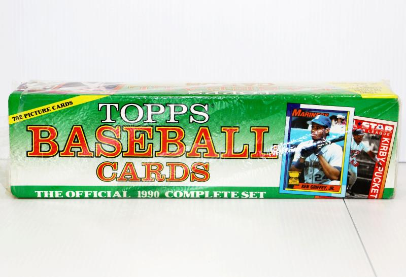 1990 Topps Baseball Cards Complete Factory Sealed Box 710 36 Estatesalesorg