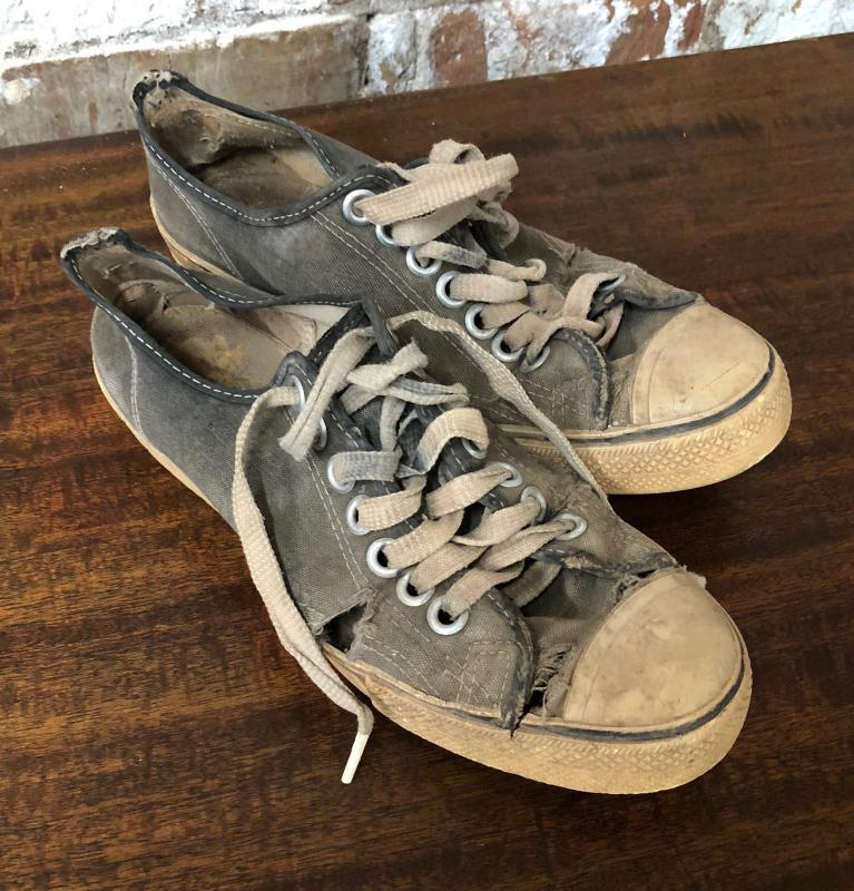 WORLD'S FIRST TENNIS SHOES
