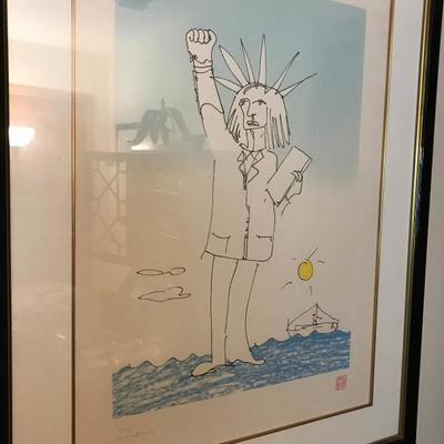 John Lennon's Power to the People | Limited Edition Lithograph