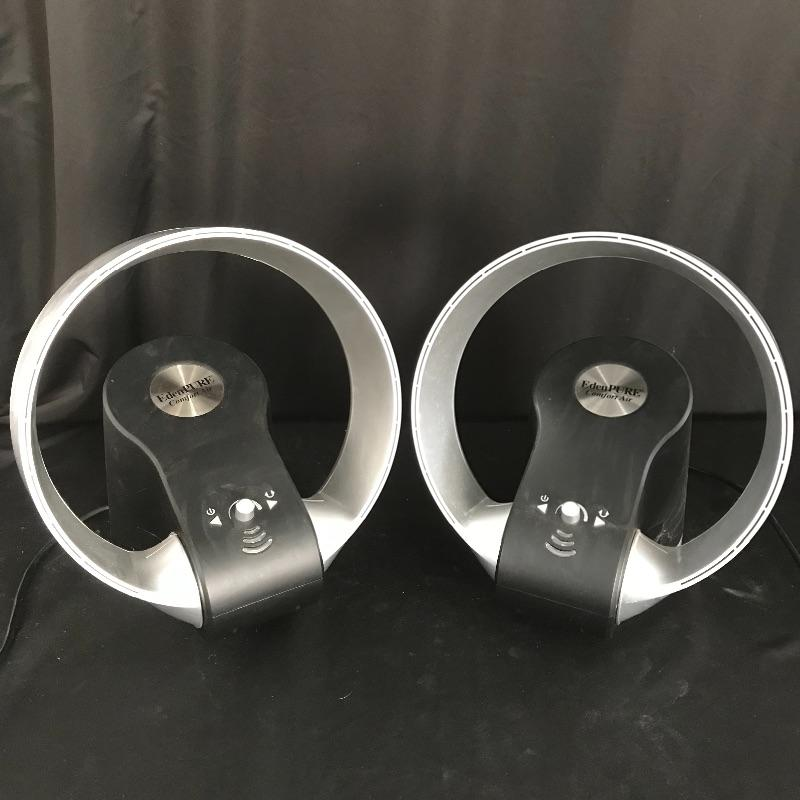 Lot 41 Two Edenpure Comfort Air Blade Less Fans Estatesalesorg
