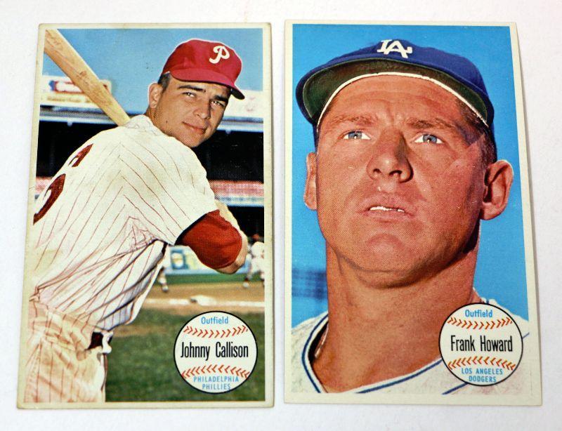 1964 Topps Giants Baseball Cards Lot 24 36 Estatesalesorg