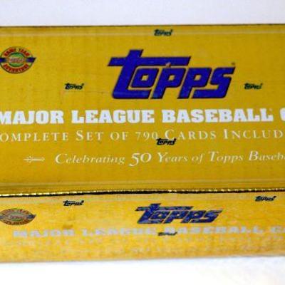 2001 Topps Baseball Cards Mlb Factory Complete Set Sealed Box 790 Cards D 021 Estatesalesorg
