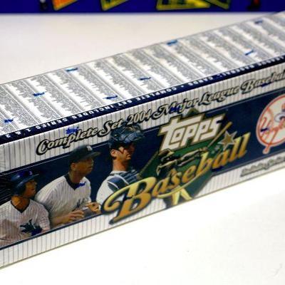 2004 Topps Baseball Cards Mlb Factory Complete Set Sealed Box 732 Cards D 017 Estatesalesorg