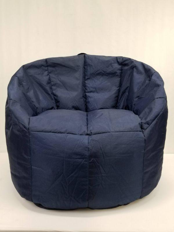Incredible Big Joe Bean Bag Chair Navy Blue Open Box New Estatesales Org Creativecarmelina Interior Chair Design Creativecarmelinacom