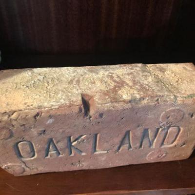 Nice OAKLAND Brick Paver