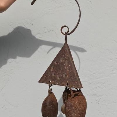 Weathered Outdoor Bell Chime