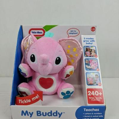 874352ac58d207 Little Tikes My Buddy, Pink Elephant, Teaches Letter/Numbers/Social/Etc..