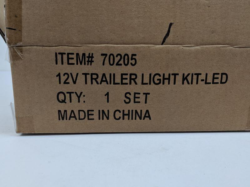 12V Trailer Light Kit- LED, 1 Set - New
