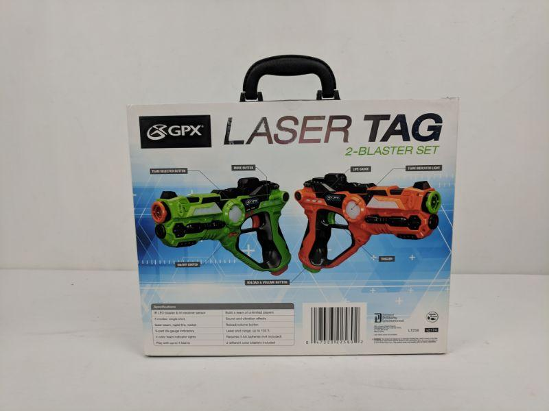 Laser Tag 2-Blaster Set, GPX, Open Box/Checked - New