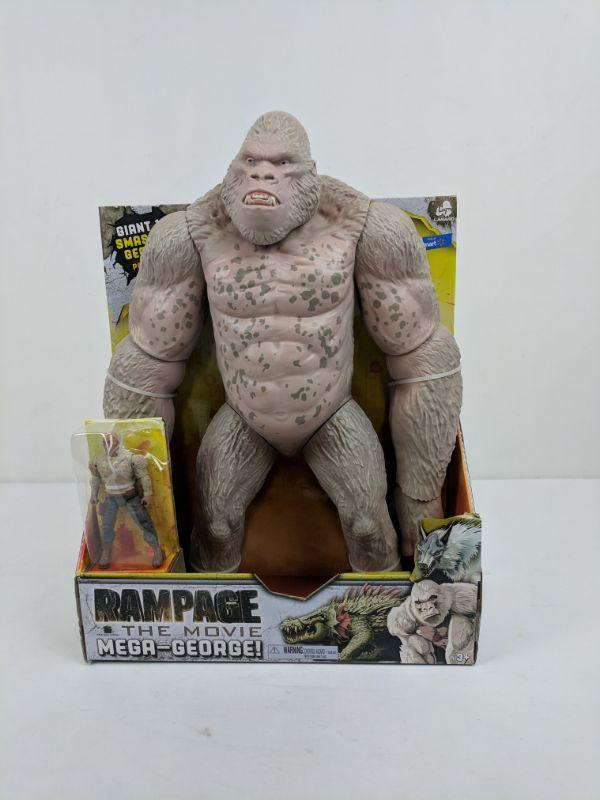 Rampage The Movie Mega George Missing 6 Figure New