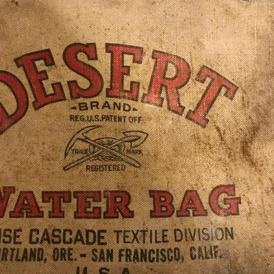 Desert Water Bag - BOISE CASCADE SAN FRANCISCO, CA