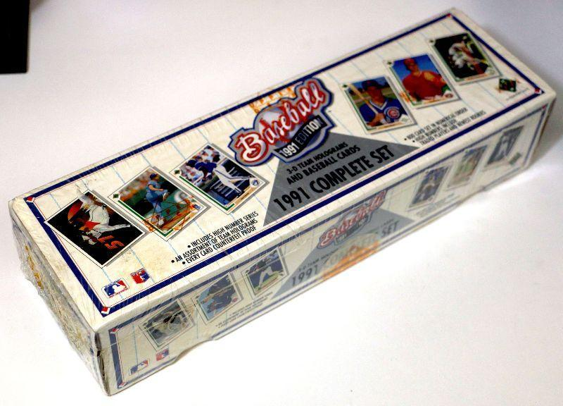 1991 Upper Deck Baseball Cards Factory Complete Set Sealed Box 800 Cards D 010 Estatesalesorg