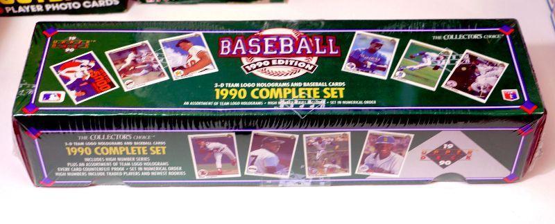 1990 Upper Deck Baseball Cards Factory Set Sealed Box Wlogo Holograms D 003 Estatesalesorg