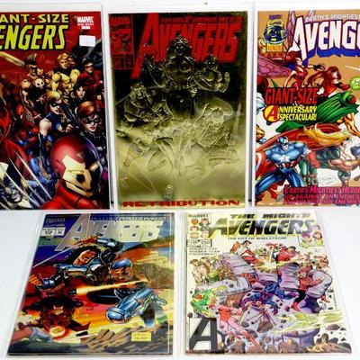 AVENGERS Comic Books Collection Marvel Comics - Lot of 5 - High Grade