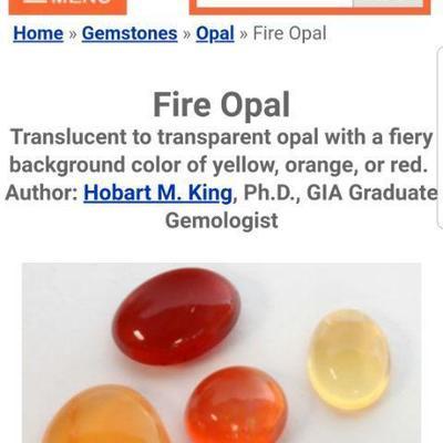 14k Fire Opal Diamond ring. Inv# 11
