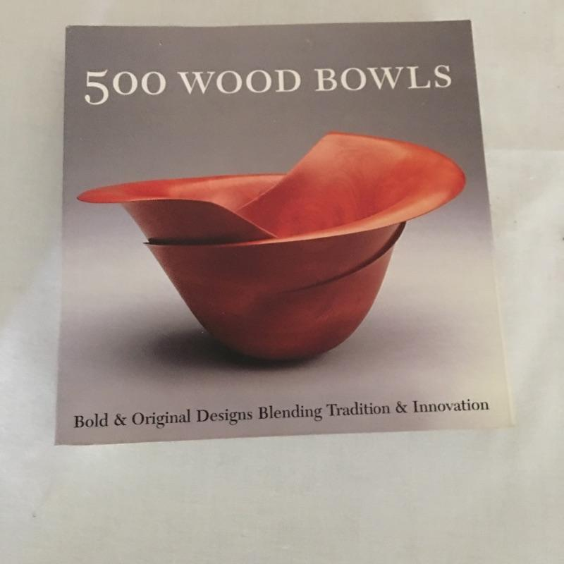 "Lovely handmade wooden bowls, cups and other pieces. Includes two books about Wood Bowls. Likely made by the homeowner but we can not verify. Largest bowl measures 10""D.  Shipping Available"