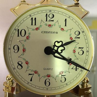 Lot 3 - Pair of Quartz Globe Clocks