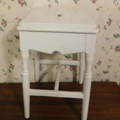 Solid Wood Side Table 10