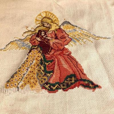 Counted Cross Stitch angels