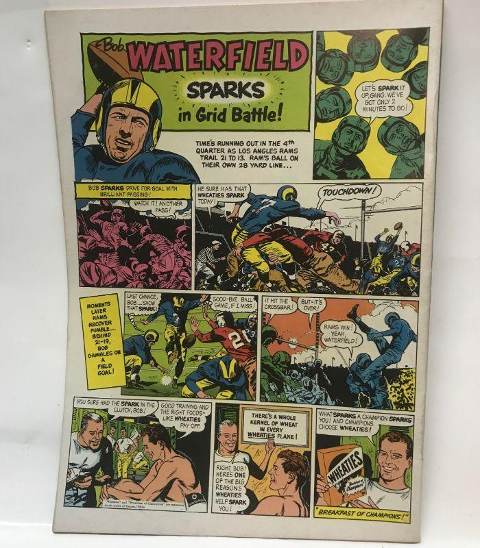 52 page Dell comic-cover 10 cents-KK Publications NY. All items SOLD AS IS, AS SHOWN and subject to reserve bid. Unsold and Unpaid items will be relisted. Items can be picked up on Wednesday June 5th between 5-7 PM. We can ship small items. For items we do not ship, Buyer can use commercial shipper (UPS, Fedex, etc) Pack and Ship services and we will work with them.