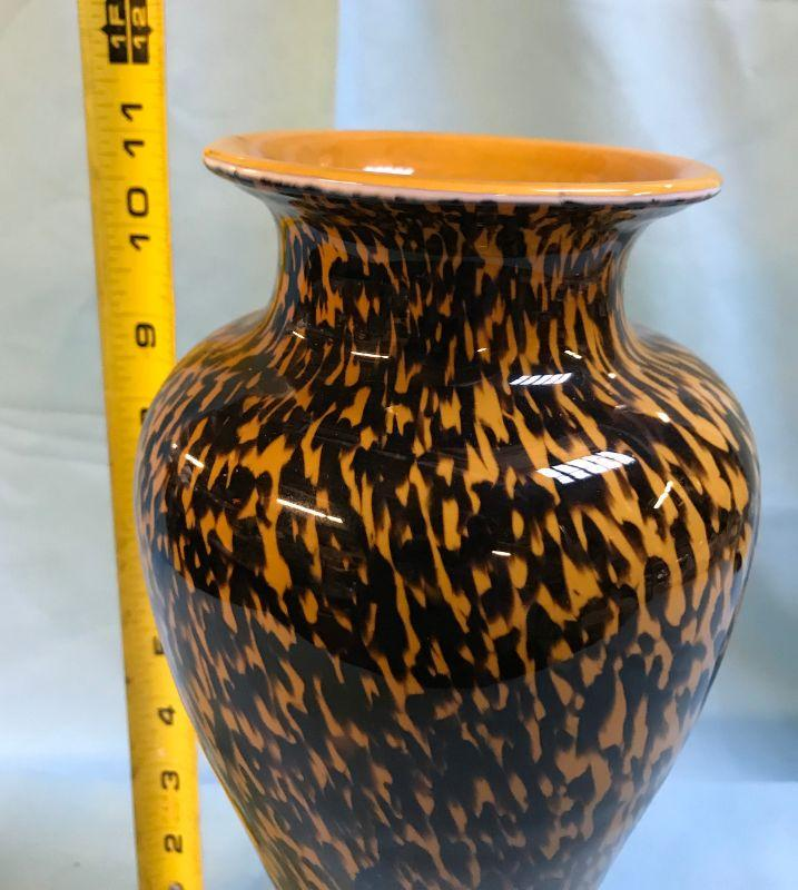 Art deco vase. All items SOLD AS IS, AS SHOWN and subject to reserve bid. Unsold and Unpaid items will be relisted. Items can be picked up on Wednesday June 5th between 5-7 PM. We can ship small items. For items we do not ship, Buyer can use commercial shipper (UPS, Fedex, etc) Pack and Ship services and we will work with them.