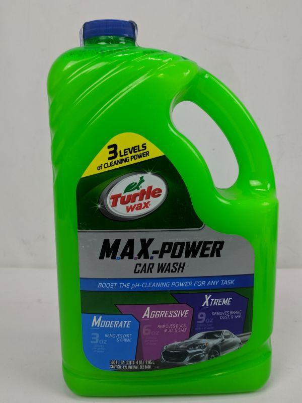 Turtle Wax Max Power Car Wash New Estatesales Org