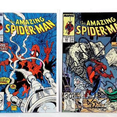 Details about  /AMAZING SPIDER-MAN #302 — MARVEL 1988 — TODD MCFARLANE COVER