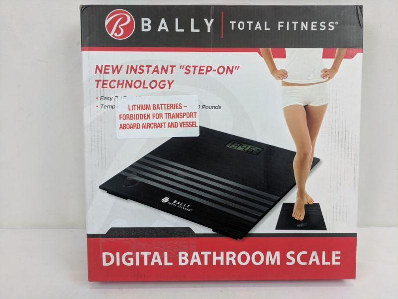Bally Total Fitness Digital Bathroom Scale