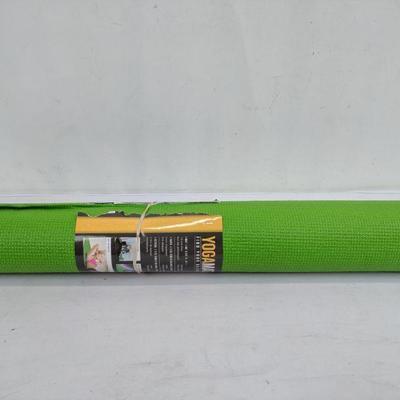 Green Yoga Mat, 68