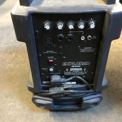 Explorer PB-2500 PA Speaker