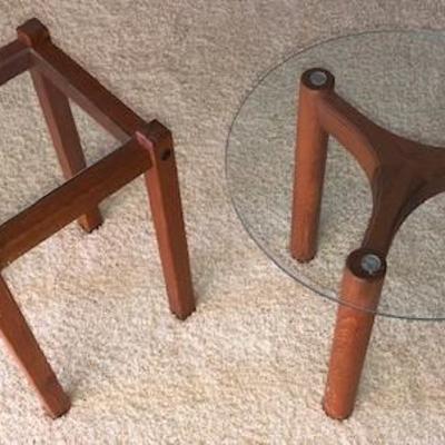 Pair of Teak Side Tables