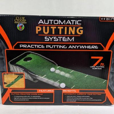Club Champ Automatic Putting System - New