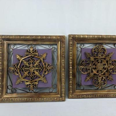 Wooden/Metal Wall Decor