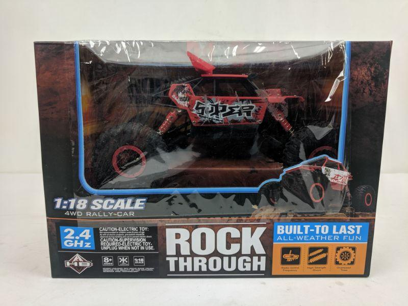 Rock Through 1:18 Scale 4WD Rally Car, Drives Slow Bad Antenna? For Parts,  As Is | EstateSales org