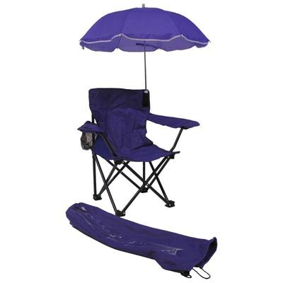Beach Baby ALL-SEASON Umbrella Chair with Matching Shoulder Bag, Purple - New