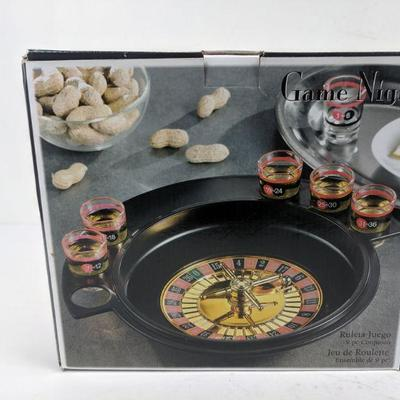 Game Night Roulette Game 9 pc Set - New