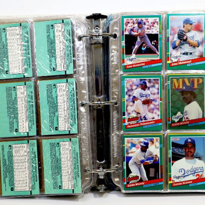LOS ANGELES DODGERS BASEBALL CARDS COLLECTION - 360 cards - 1980's and up
