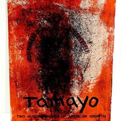 Rufino Tamayo Obscure Man 200 Years of American Growth Litho Mourlot c.1976