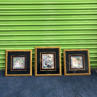 Lot 1 - Original Paintings by Lena Liu - Set of 3  - all numbered!