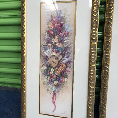 Lot 2 - Artwork by Lena Liu - Numbered
