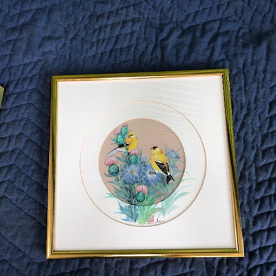 Lot 4 - Signed Watercolors Artwork - Signed by John Cheng
