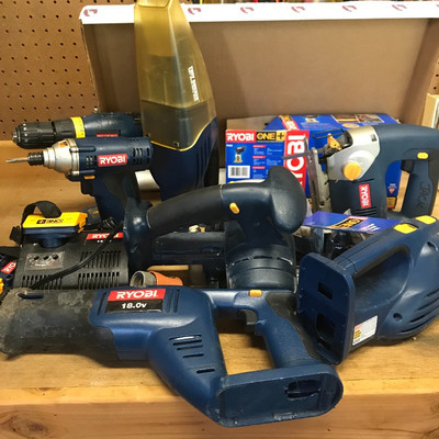 Lot 15 - Ryobi Power Tool Collection